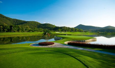 Overview of golf course named Alpine Golf Resort Chiangmai