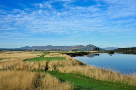 Overview of golf course named The Carnegie Links at Skibo Castle