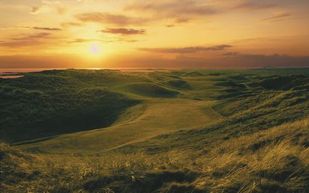 Carne golf links cover picture