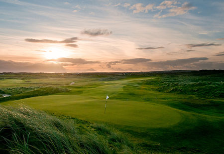 Overview of golf course named Trump International Golf Links Doonbeg
