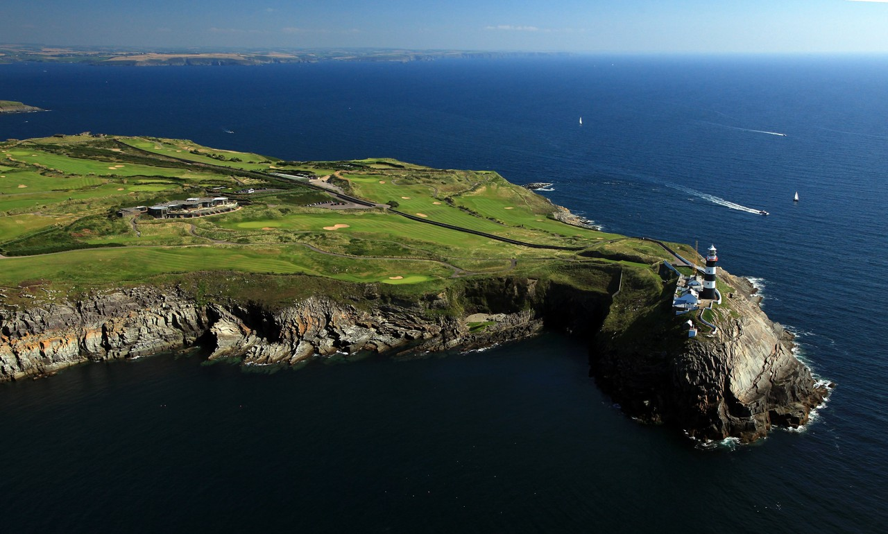 Overview of golf course named Old Head Golf Links