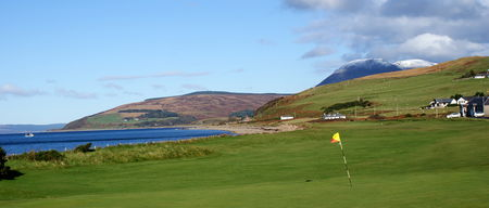 Overview of golf course named Machrie Golf