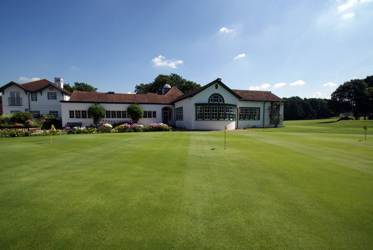 Woking golf club cover picture
