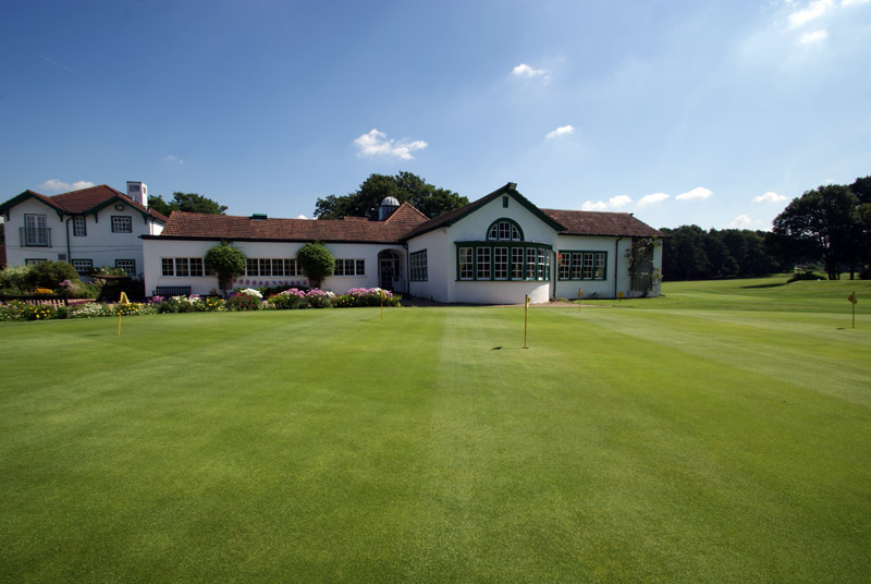 Overview of golf course named Woking Golf Club