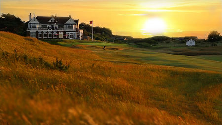 Hunstanton golf club cover picture
