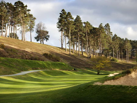 Overview of golf course named Hindhead Golf Club