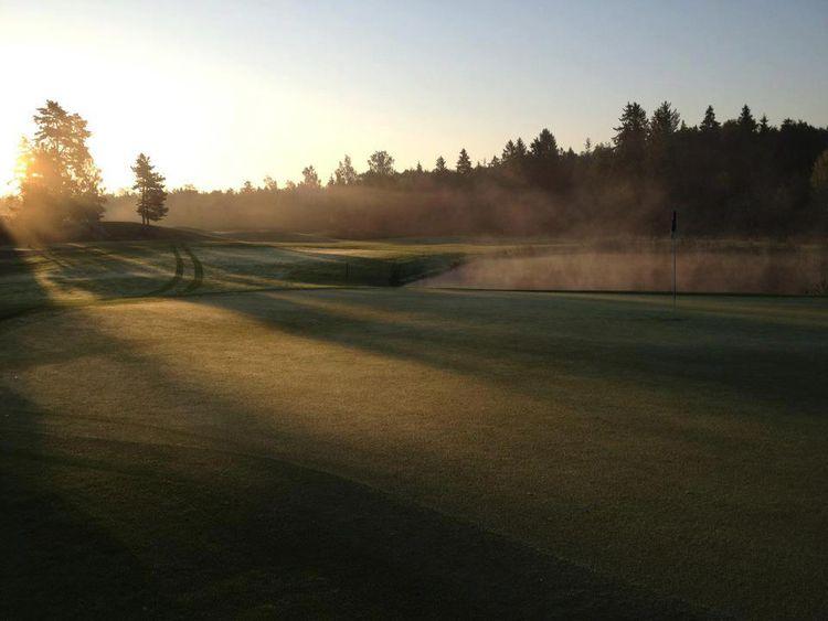 Upsala golfklubb cover picture