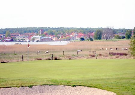 Overview of golf course named Solvesborgs Golfklubb