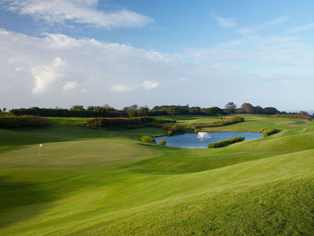 Sandy lane golf club the green monkey course cover picture