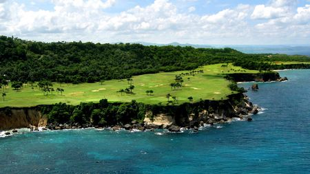 Overview of golf course named Playa Grande Golf Course