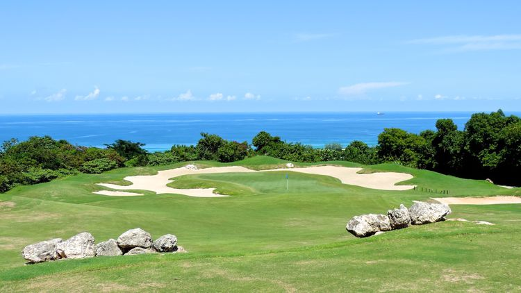 White witch golf course cover picture