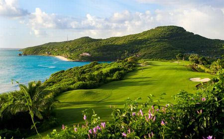 Overview of golf course named The Grenadines Estate Golf Club