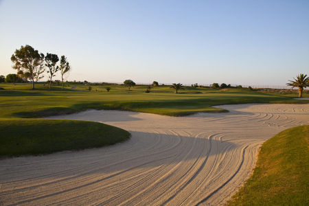 Overview of golf course named El Kantaoui Golf
