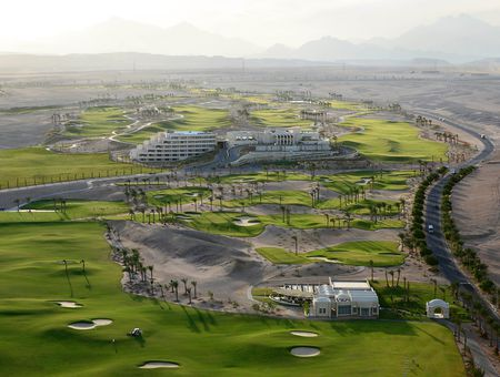 Overview of golf course named Madinat Makadi Golf Resort