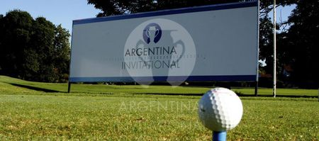 Cover of golf event named Argentina Invitational