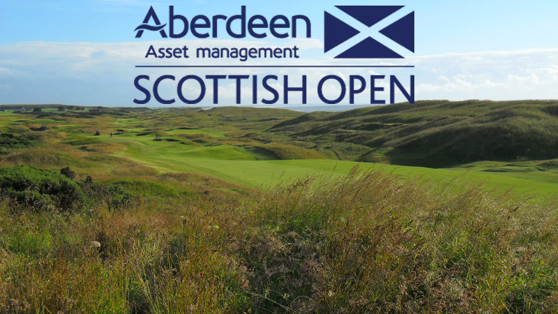 Cover of golf event named Aberdeen Asset Management SCOTTISH OPEN, 10th-13th July 2014