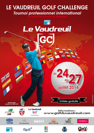 Cover of golf event named LE VAUDREUIL GOLF CHALLENGE 2014