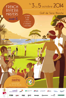 Cover of golf event named French Riviera Masters 2014