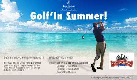 Golf in summer cover picture