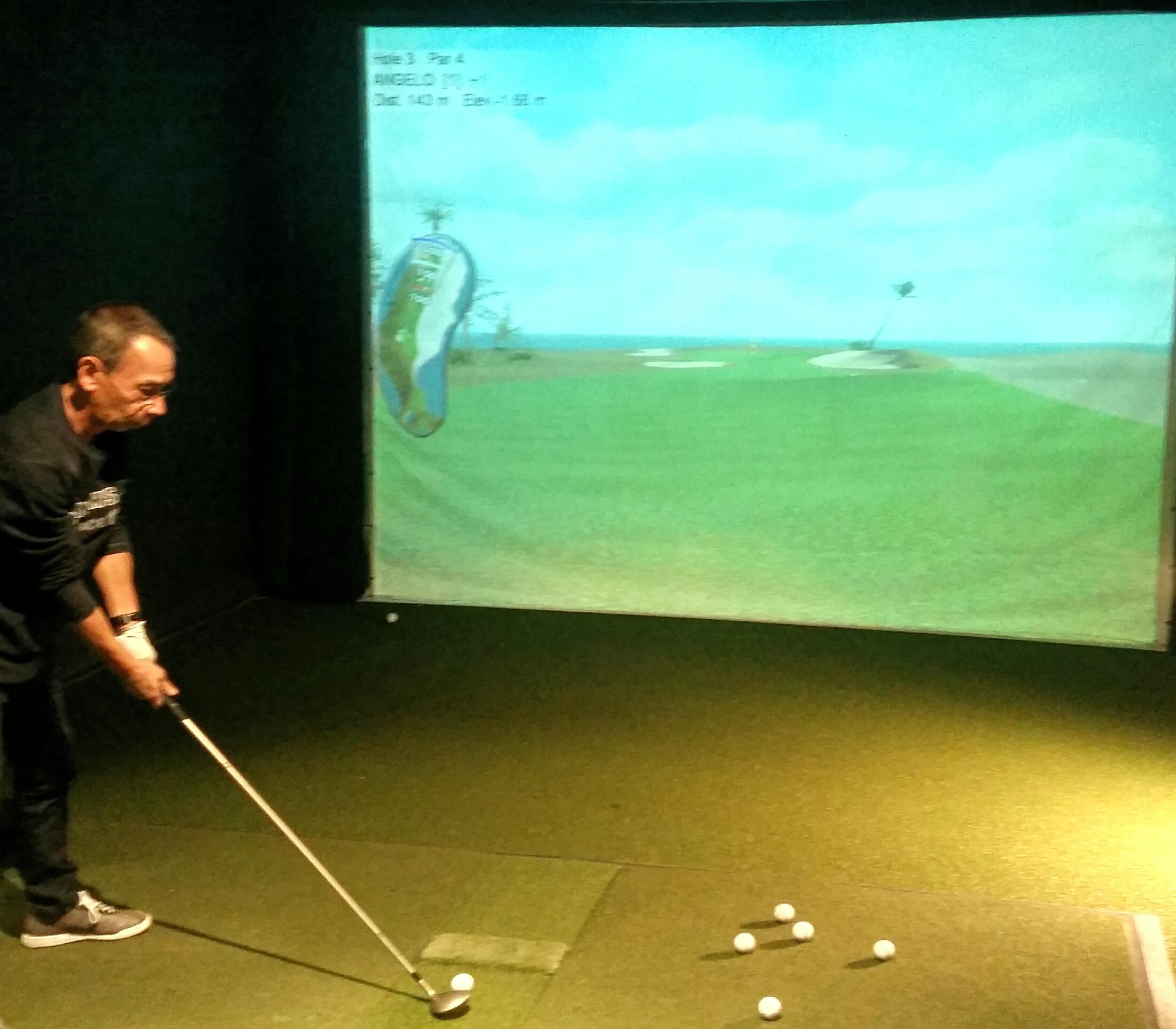 Cover of golf event named CitabelGolf Indoor Tournement