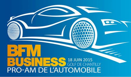 Cover of golf event named Pro-Am de l'Automobile