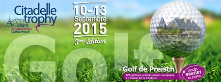 Cover of golf event named Citadelle Trophy International