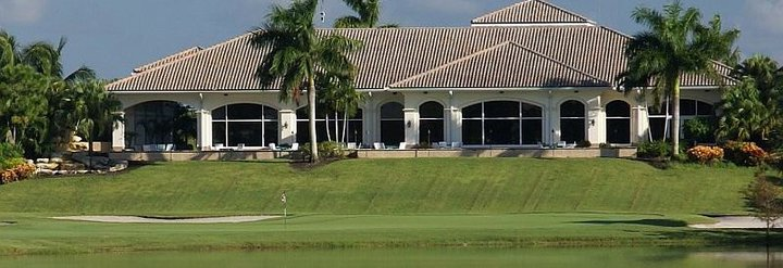 Overview of golf course named Abacoa Golf Club