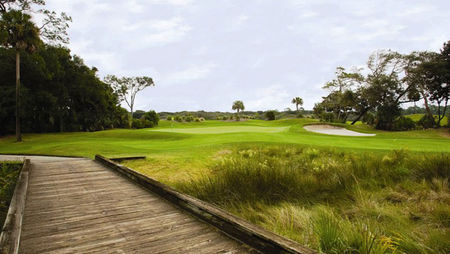 Overview of golf course named Amelia Island Plantation
