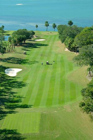 Overview of golf course named Belleair Country Club