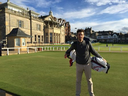 Saint andrews links michael t checkin picture