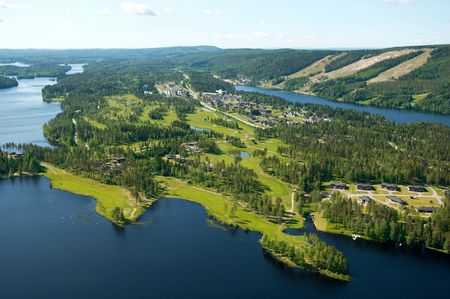 Overview of golf course named Tahko Golf Club