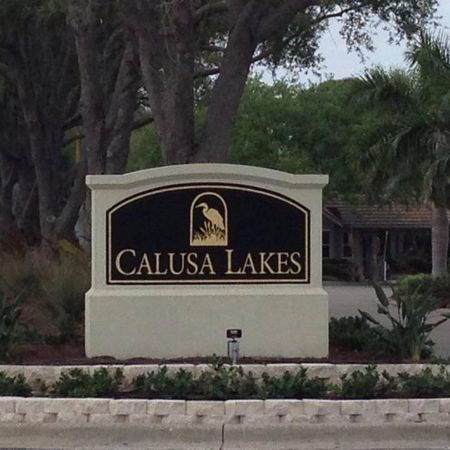 Overview of golf course named Calusa Lakes Golf Club