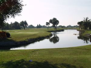Overview of golf course named Deep Creek Golf Club