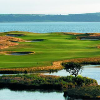 Machynys peninsula golf club picture