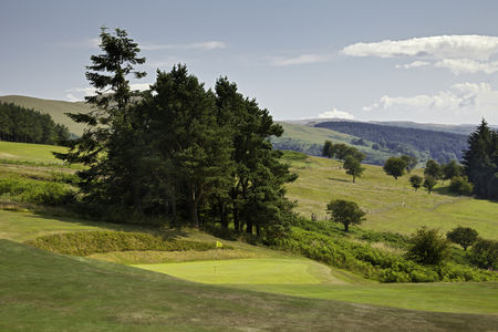 Overview of golf course named Llandrindod Wells Golf Club
