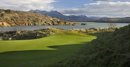 Overview of golf course named Porthmadog Golf Club