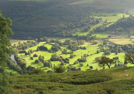 Overview of golf course named Vale of Llangollen Golf Club