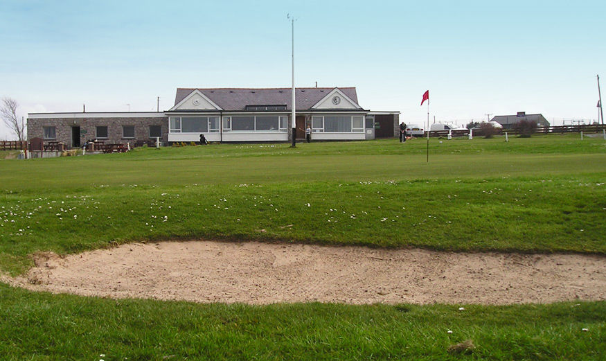 Anglesey golf club picture