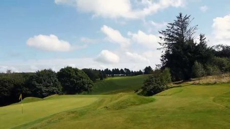 Overview of golf course named Carmarthen Golf Club