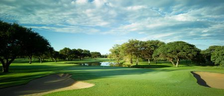 Overview of golf course named Sishen Golf Club