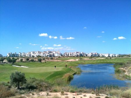 Overview of golf course named Hacienda Riquelme Golf Resort