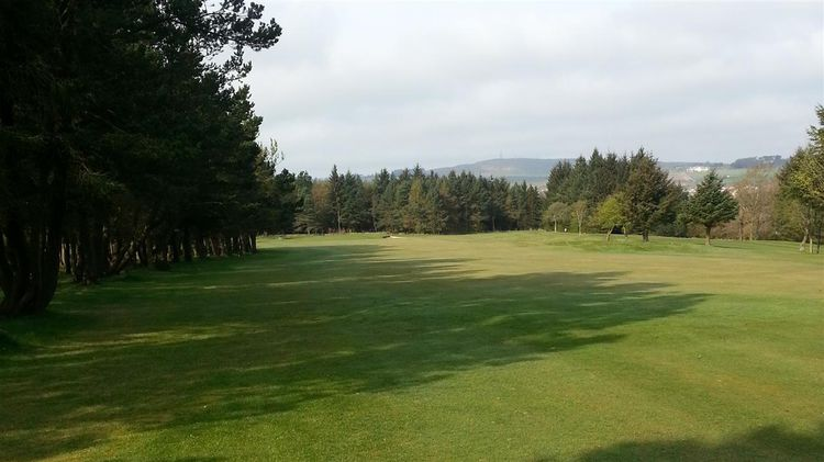 Auchmill golf club cover picture