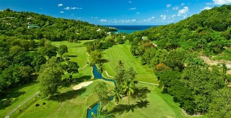Overview of golf course named Saint Lucia Golf Resort and Country Club