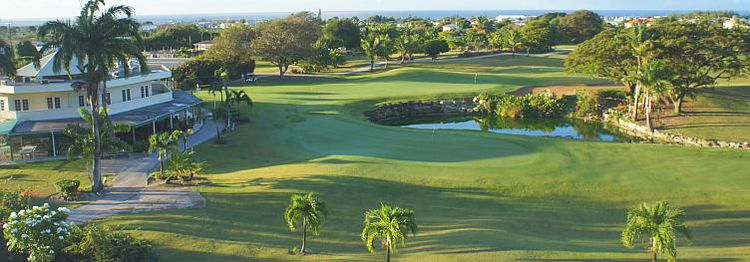 Barbados golf club cover picture