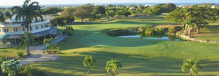 Overview of golf course named Barbados Golf Club