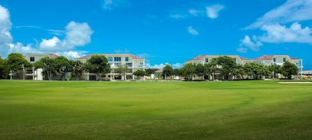 Overview of golf course named Punta Blanca Golf and Beach Resort