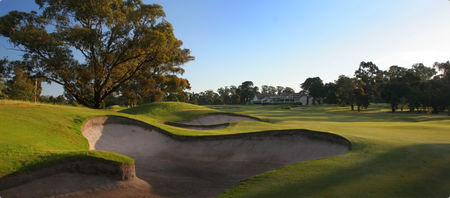 Overview of golf course named Huntingdale Golf Club
