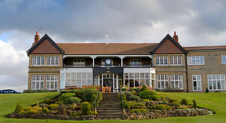 Lindrick golf club cover picture