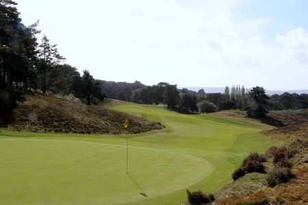 Overview of golf course named Parkstone Golf Club