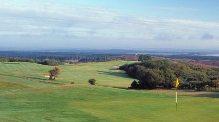Overview of golf course named Isle of Purbeck Golf Club